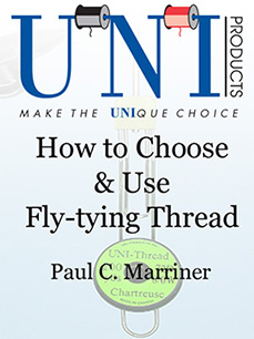 cover image for digital edition of How to Choose & Use Fly-tying Thread.