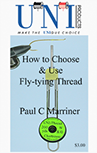 order page Cover image of How to Choose & Use Fly-tying Thread, print edition, by Paul Marriner