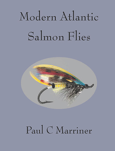 Cover image of Modern Atlantic Salmon Flies featuring  a pattern by Rob Solo.
