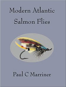 cover image of modern atlantic salmon flies featuring a rob solo pattern